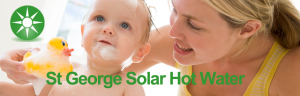 cheapa st george solar hot water