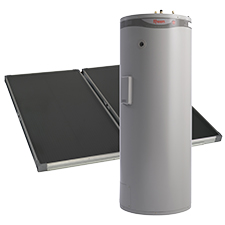 types of solar hot water split system
