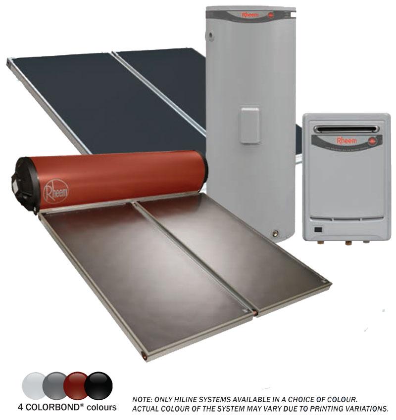 rheem solar hot water agents st george
